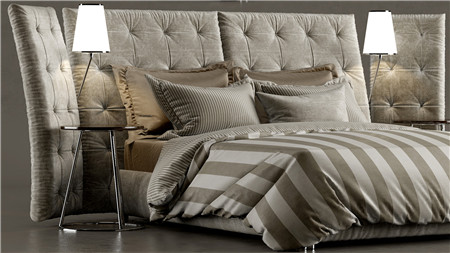 Bed ANGLE flou 豪华床上4件套