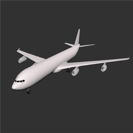 A340-300-AIRFRANCEA 法国航空