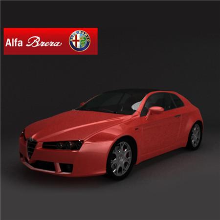 Alfa Romeo Brera 2005 阿尔法罗密欧布雷拉
