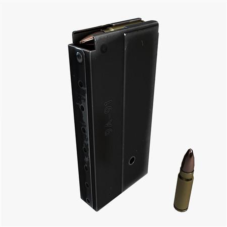 Magazine (9a-91 VSK-94) 弹夹 军火库
