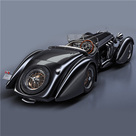 Mercedes-Benz SS Roadster 1930 Erdmann&Rossi retro legend sport cabriolet (梅赛德斯-奔驰 SS 跑车 1930 Erdmann&Rossi复古传奇运动敞篷车)