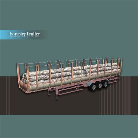 ForestryTrailer 林木拖运车
