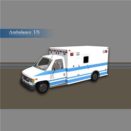 Ambulance_US 救护车