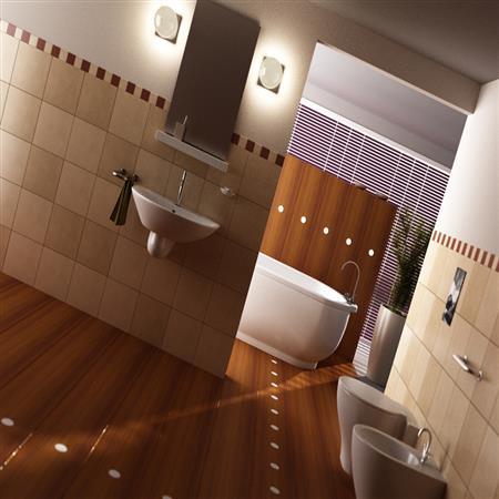 浴室-客厅