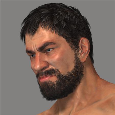 大胡子 野蛮人 Bearded Man