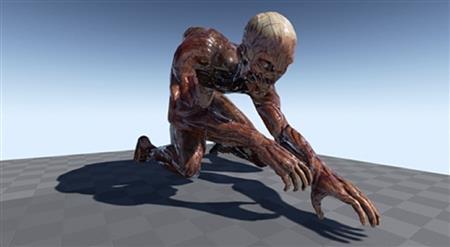 虚幻引擎市场重口味僵尸 Unreal Engine Marketplace T-Pose Zombie Pack