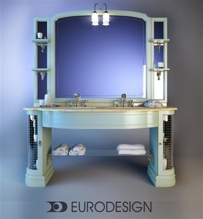 Furniture for bathrooms Eurodesign IL Borgo Comp 豪华洗手池