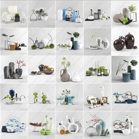 家具摆设,坛坛罐罐,精美装饰