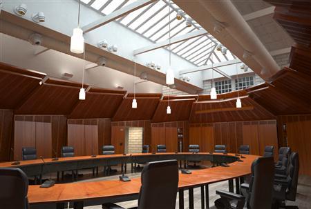会议室(环形会议桌)