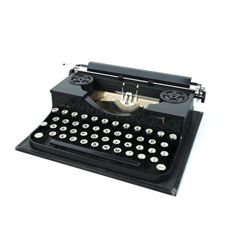 Evermotion Archmode 怀旧物品 打字机