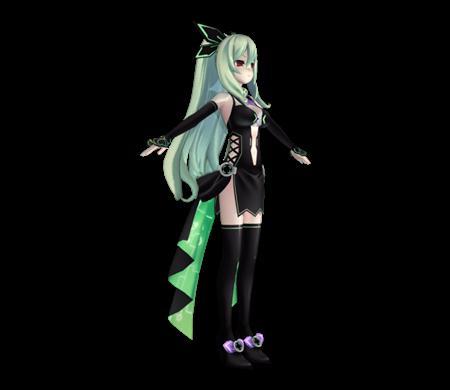 超次元海王星妹子01 ChikaHakozaki