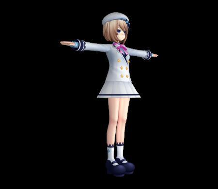 超次元海王星妹子 Blanc