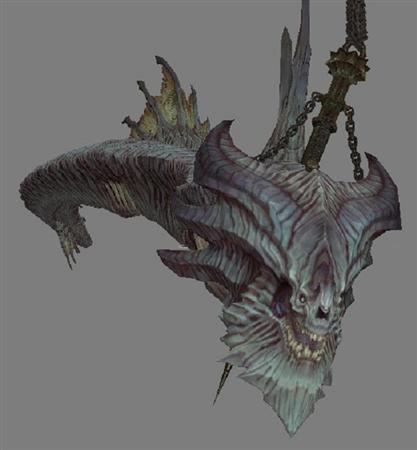 暗黑血统2 Darksiders2 拉船的龍