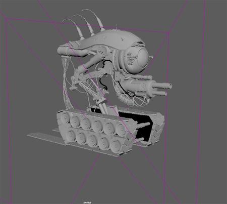 怪兽坦克车 科幻战车 自走火炮 Monster tanks  science fiction chariots