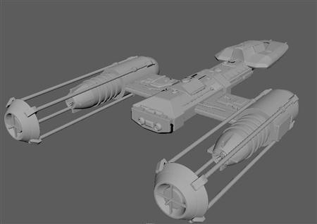 科幻战斗机 Science fiction fighter