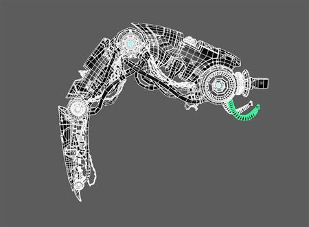 机器臂 脚
