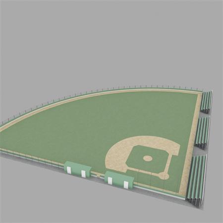 Evermotion Archmode 运动器材 棒球场