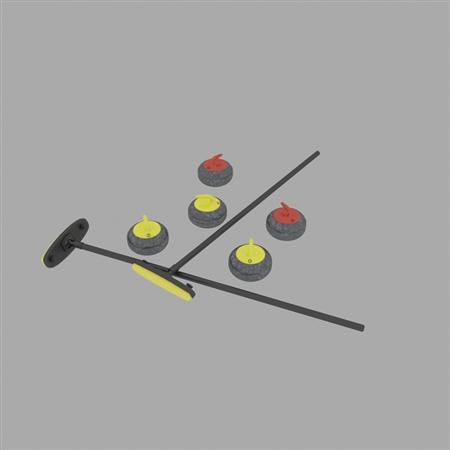 Evermotion Archmode 运动器材 冰壶