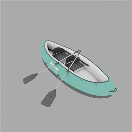 Evermotion Archmode 运动器材 双人皮划艇