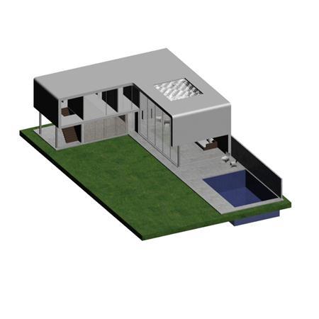 简模建筑 房子