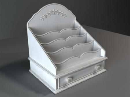 古典家具模型 024 储物柜