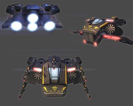 空间飞船 Spaceship 四组