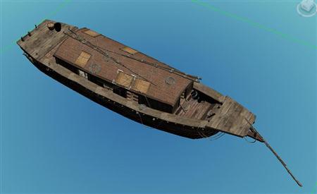 奇幻风格木船 08