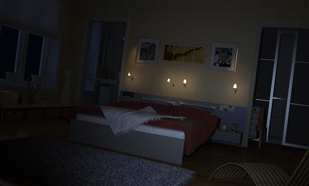 高清精致卧室