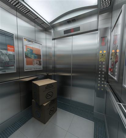 高清精致电梯内部