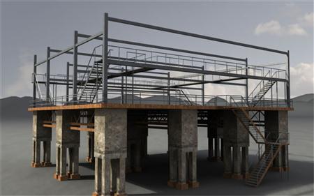 unity3d游戏场景模型工业场景资源3D模型包2