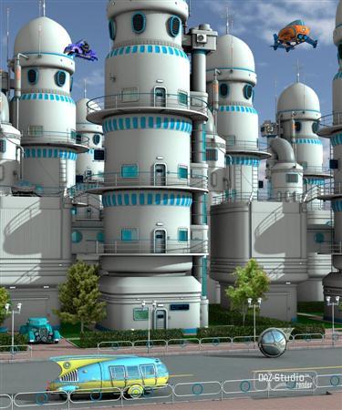 高科技技术社区 Technopolis