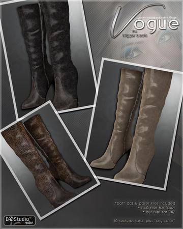 高邦高跟鞋 Vogue for Trigger Boots