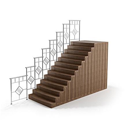 Evermotion Archmode 建筑结构 楼梯扶手