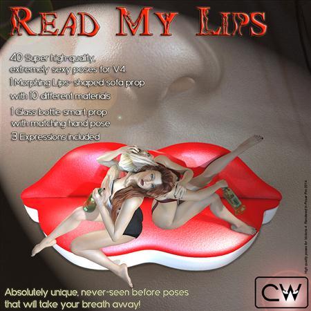 吻我的唇 性感女人 Read My Lips