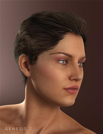 世外桃源的头发   短发女人 Xanadu Hair
