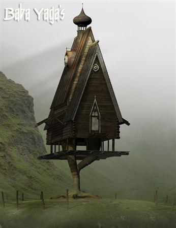 芭芭雅加的小屋 Baba Yaga's