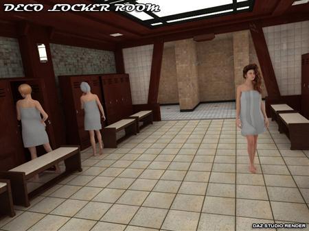 更衣室 Deco Locker Room
