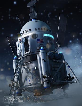 月球登陆飞船 Moon Lander