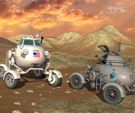 月面机器人 Moon Rod