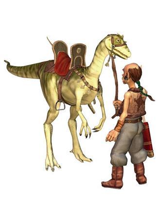 恐龙与马夫 Tawhak