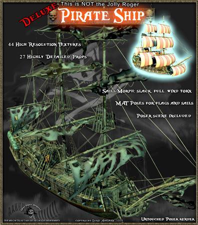 海贼船 海盗船 Pirate Ship