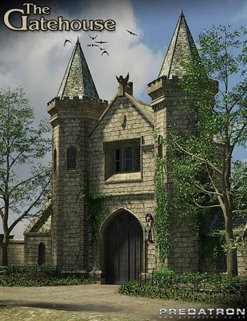 警卫室 古堡 The Gatehouse