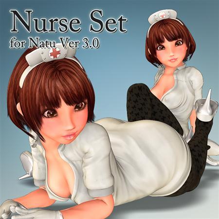 萌萌哒萝莉 护士 Nurse Set