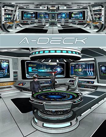星际战舰 舰桥 A 夹板A-Deck