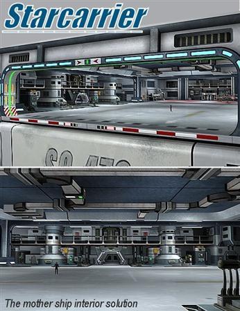 行星齿轮架 星际战舰内部 Starcarrier