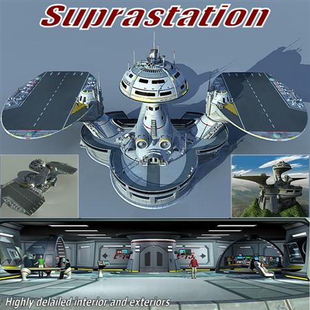 科幻超级航母 Suprastation