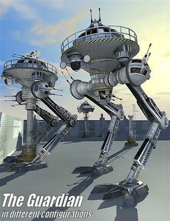 机器堡垒 守护者 守护天使 The Guardian