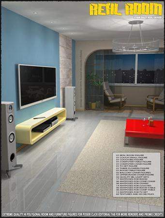 房间与美女 01 Real Room