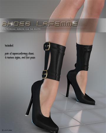 鞋子  Shoes Lafemme