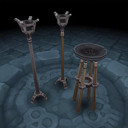 unity3d游戏模型Dungeon Props Pack 地牢小物件模型(100+个物件)